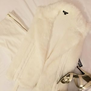 XOXO Faux Fur Sweater Vest *Brand New